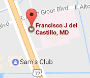 Dr. Francisco Javier del Castillo Brownsville Texas OB/GYN Hypnosis, acupuncture, weight loss